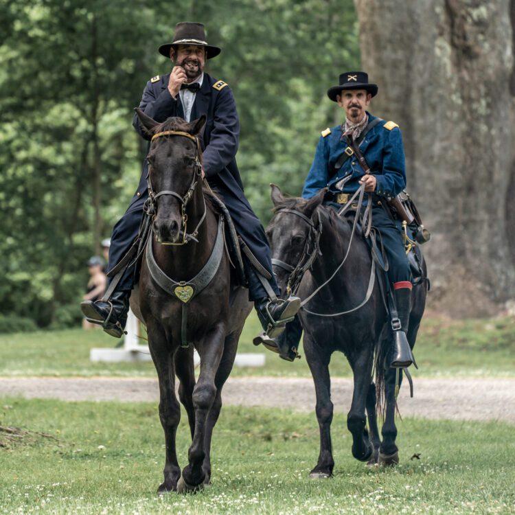 Civil War Encampment Allaire State Park 060119 071