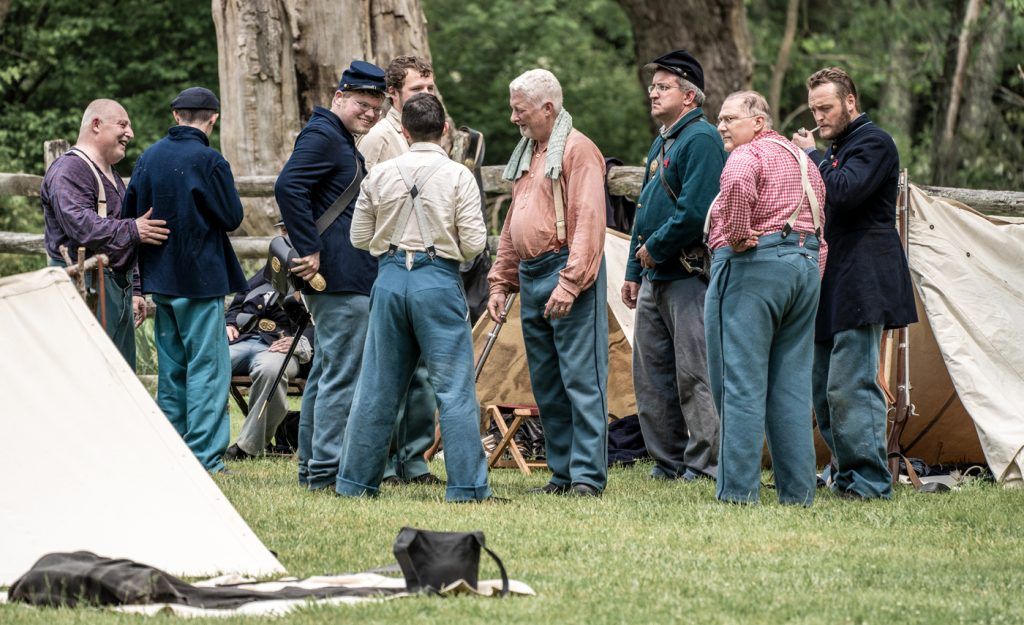 Civil War Encampment Allaire State Park 060119 072