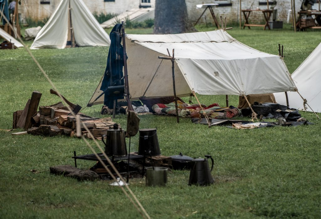 Civil War Encampment Allaire State Park 060119 085