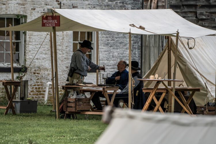 Civil War Encampment Allaire State Park 060119 086