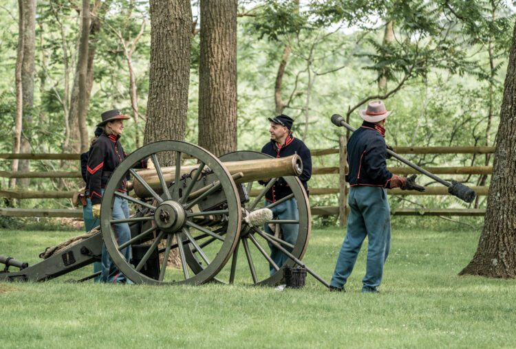 Civil War Encampment Allaire State Park 060119 093