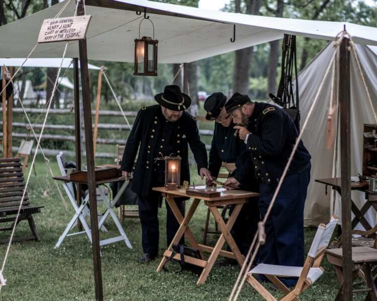 Civil War Encampment Allaire State Park 060119 105