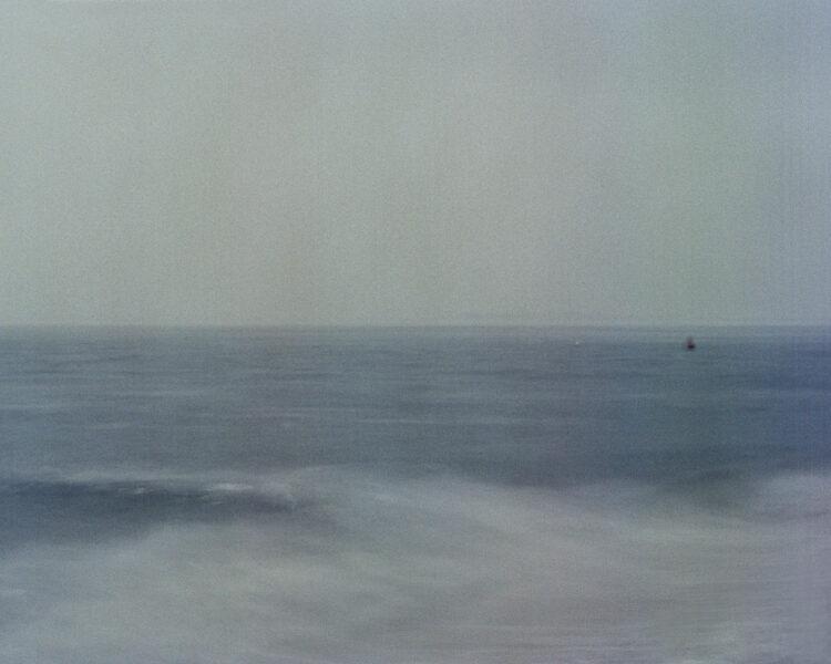 Long exposure photo of waves