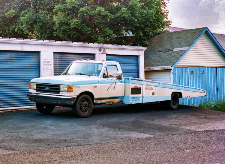 Old truck in Souderton, PA