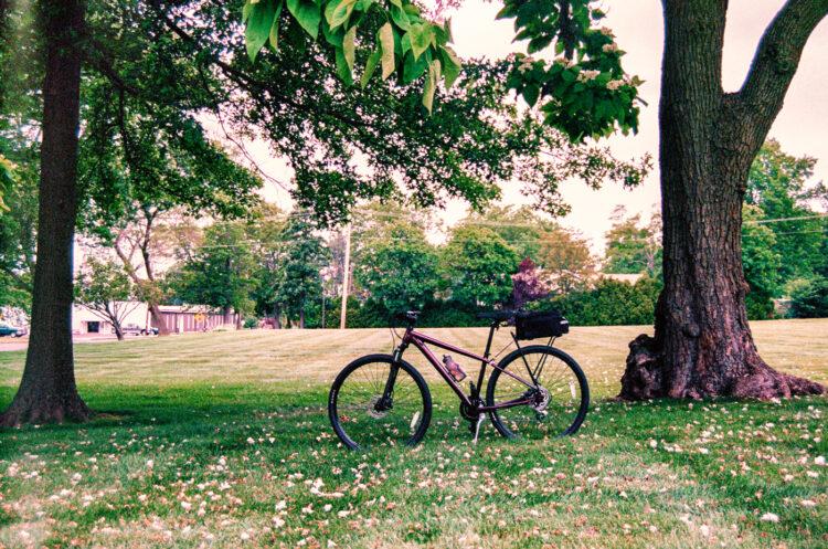 My bike in Souderton, PA