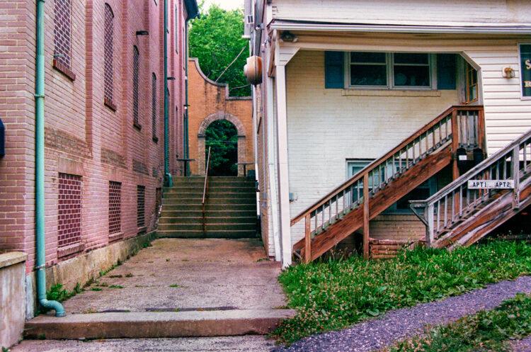 Alley in Souderton, PA