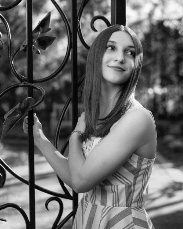 Senior Photoshoot Souderton Student