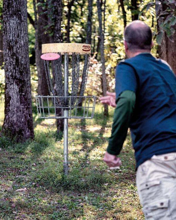 Disc Golf at Lenape Park
