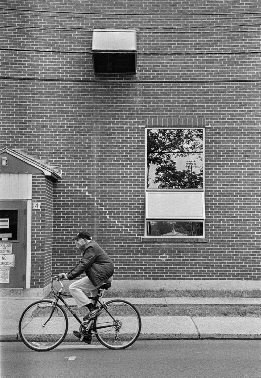 Quakertown Bicycle Rider